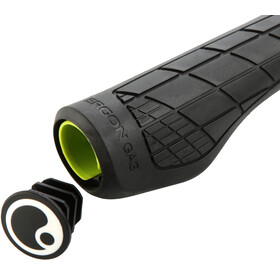 Ergon GA3 Single Twist-Shift Cykelhåndtag, black